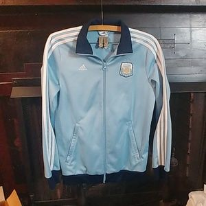 Argentina Soccer Messi | Adidas Track Jacket